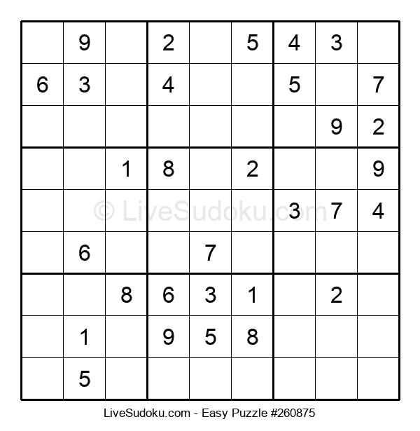 Beginners Puzzle #260875