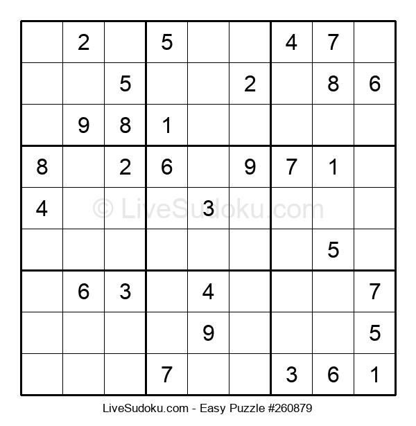 Beginners Puzzle #260879