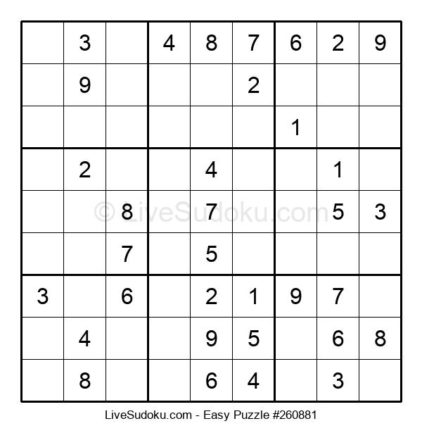 Beginners Puzzle #260881