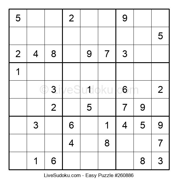 Beginners Puzzle #260886