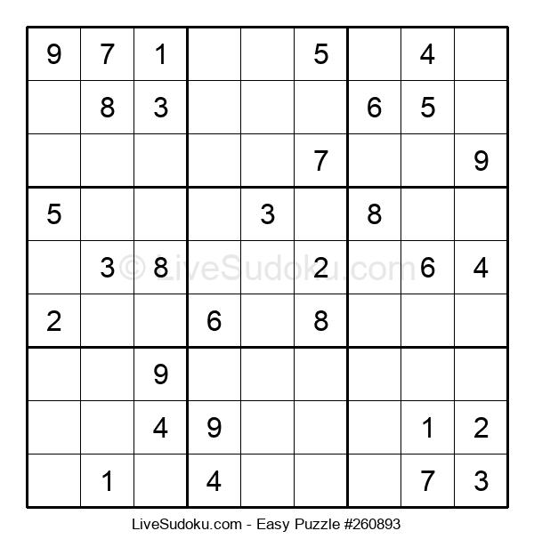 Beginners Puzzle #260893