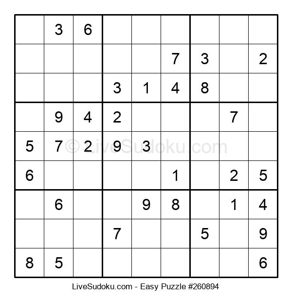 Beginners Puzzle #260894