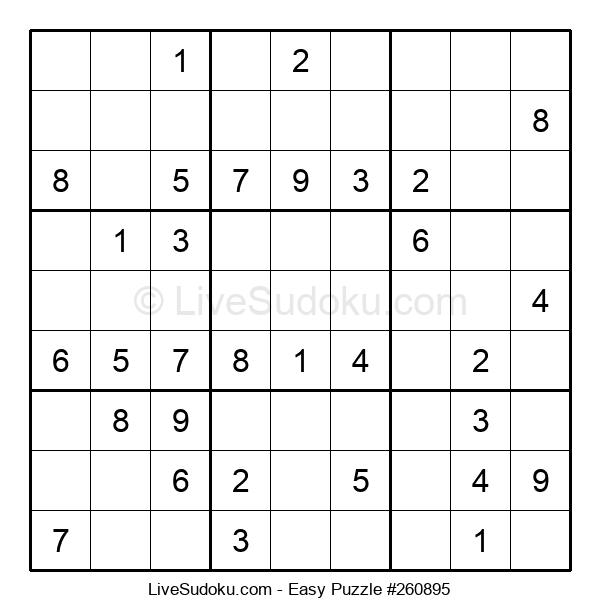 Beginners Puzzle #260895