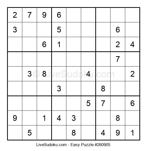 Beginners Puzzle #260905