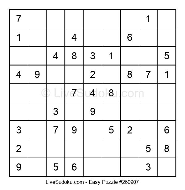 Beginners Puzzle #260907