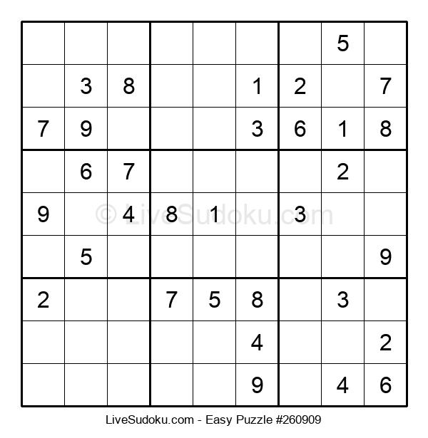 Beginners Puzzle #260909