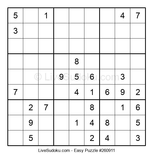 Beginners Puzzle #260911