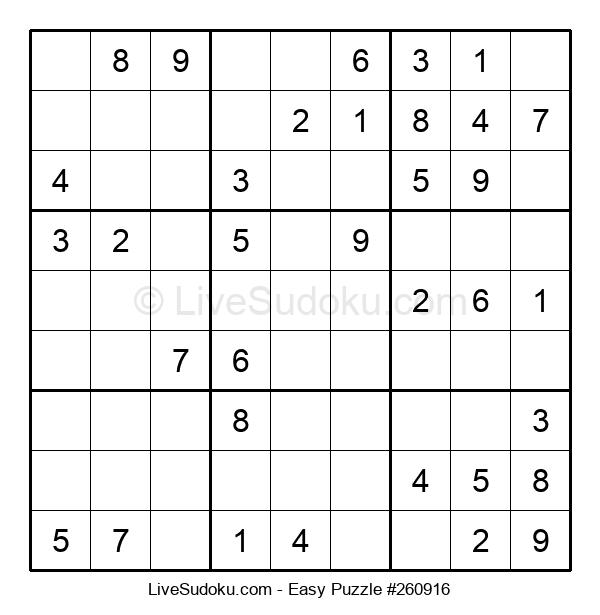 Beginners Puzzle #260916
