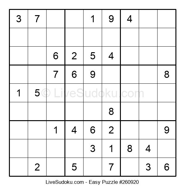 Beginners Puzzle #260920