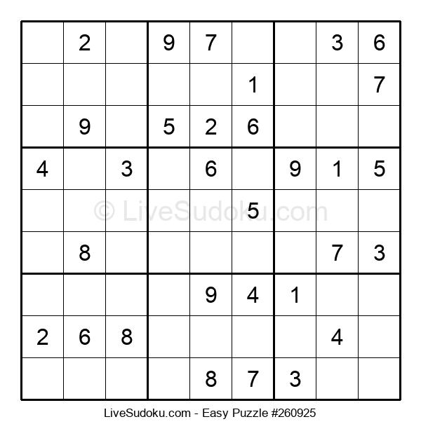 Beginners Puzzle #260925