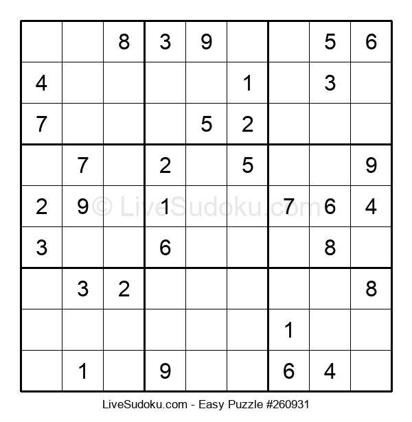 Beginners Puzzle #260931
