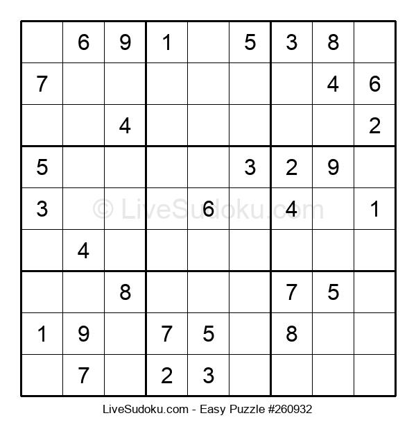 Beginners Puzzle #260932