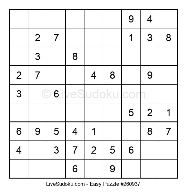 Beginners Puzzle #260937