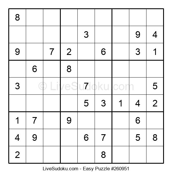 Beginners Puzzle #260951