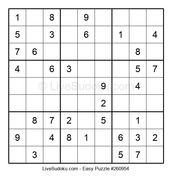 Beginners Puzzle #260954