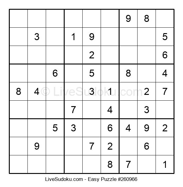 Beginners Puzzle #260966