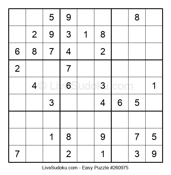 Beginners Puzzle #260975