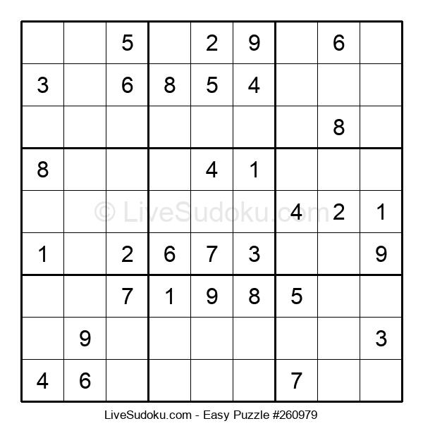 Beginners Puzzle #260979