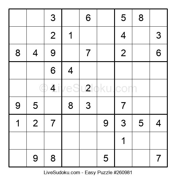 Beginners Puzzle #260981