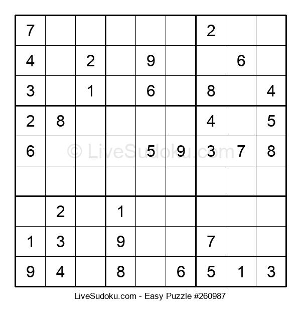 Beginners Puzzle #260987