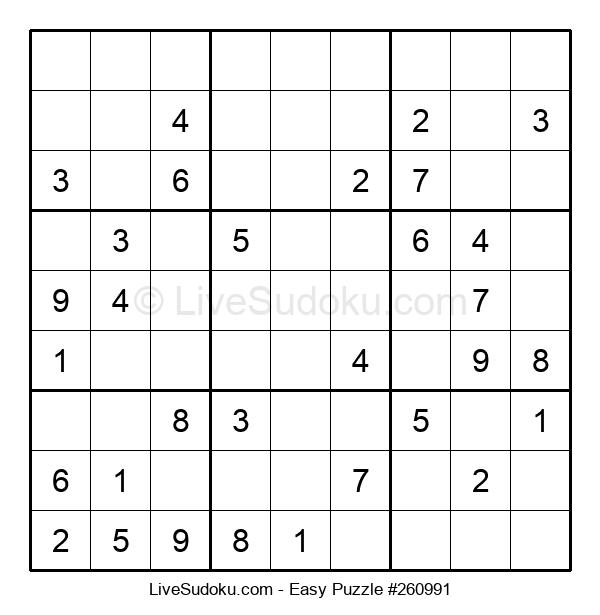 Beginners Puzzle #260991