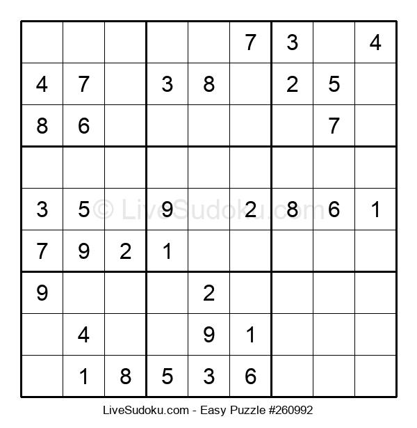 Beginners Puzzle #260992
