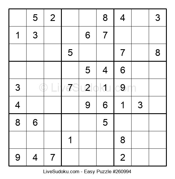 Beginners Puzzle #260994
