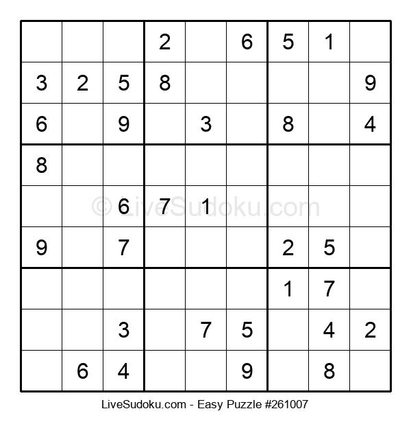 Beginners Puzzle #261007