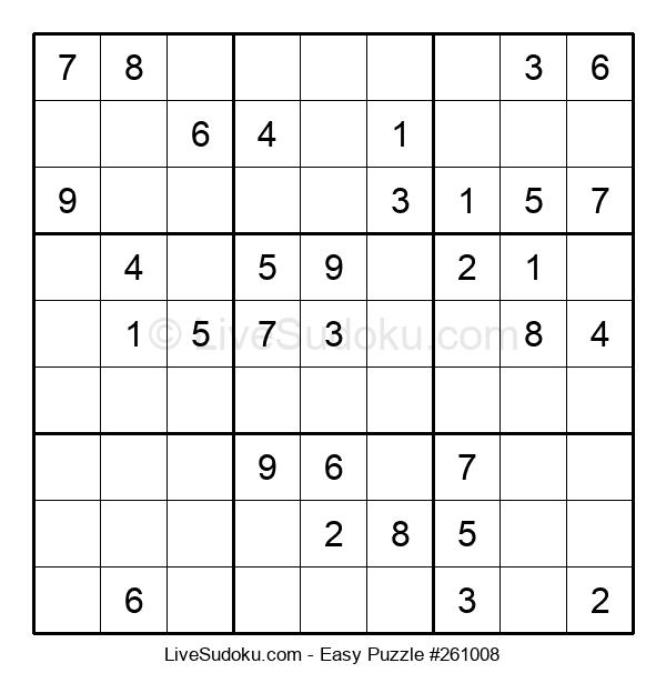 Beginners Puzzle #261008