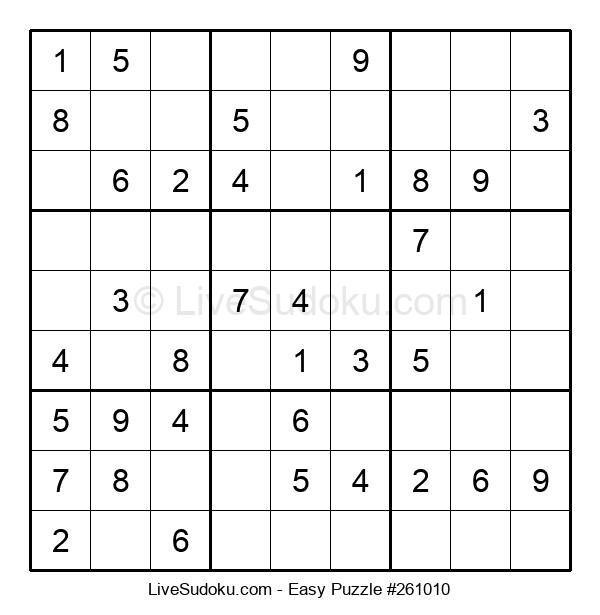 Beginners Puzzle #261010