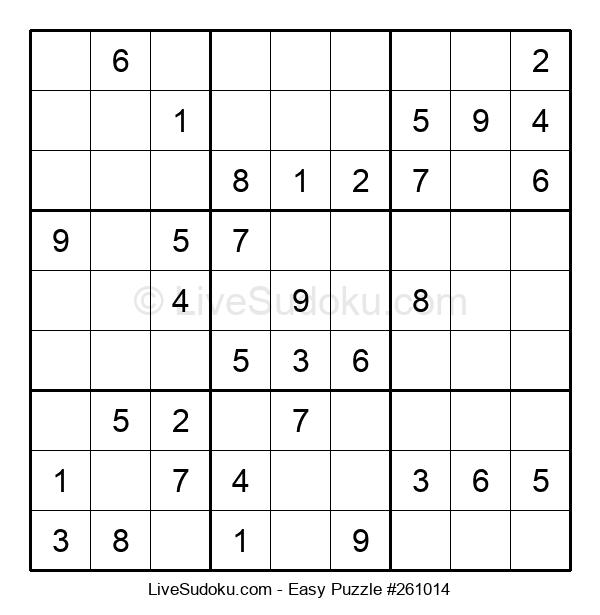 Beginners Puzzle #261014