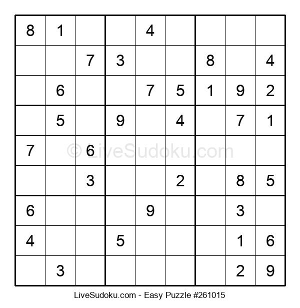 Beginners Puzzle #261015