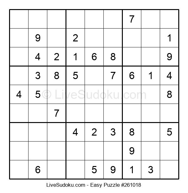 Beginners Puzzle #261018