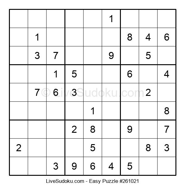 Beginners Puzzle #261021