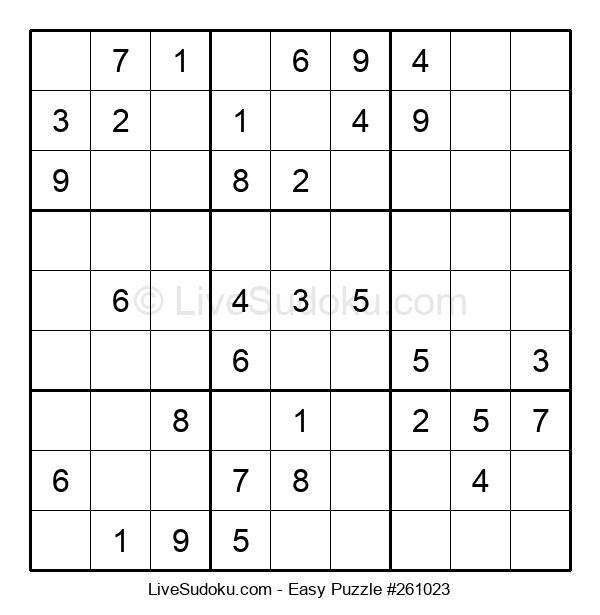 Beginners Puzzle #261023