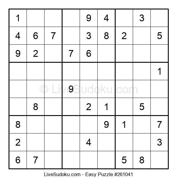 Beginners Puzzle #261041