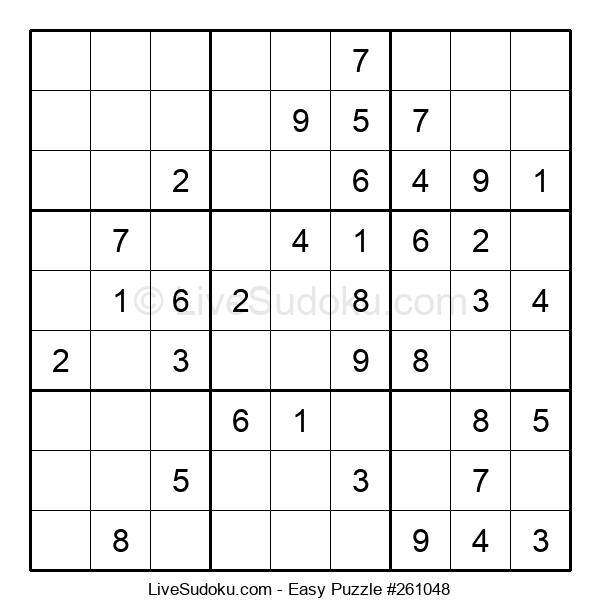 Beginners Puzzle #261048