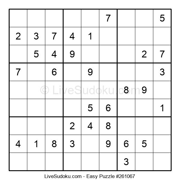 Beginners Puzzle #261067