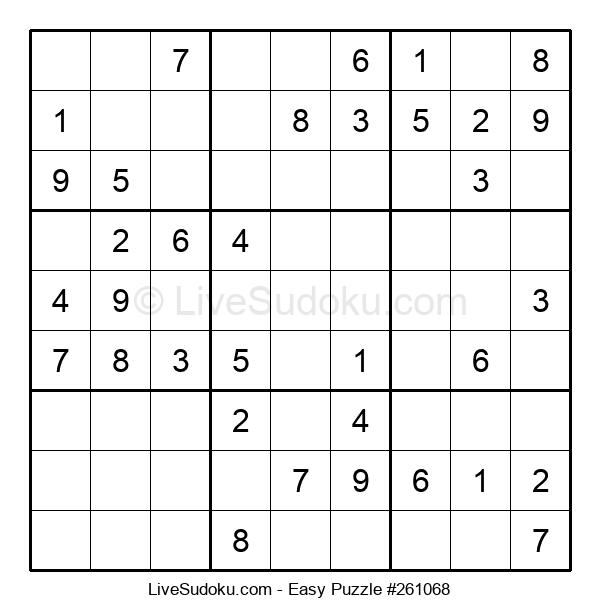 Beginners Puzzle #261068