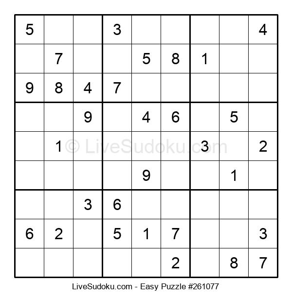 Beginners Puzzle #261077