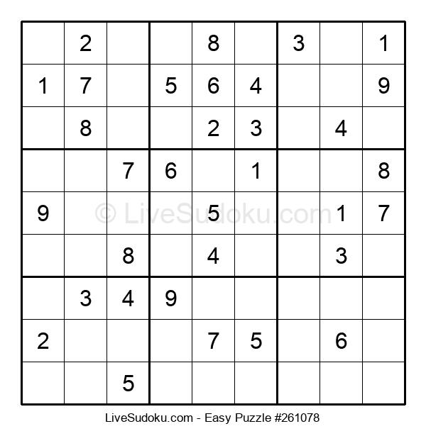Beginners Puzzle #261078