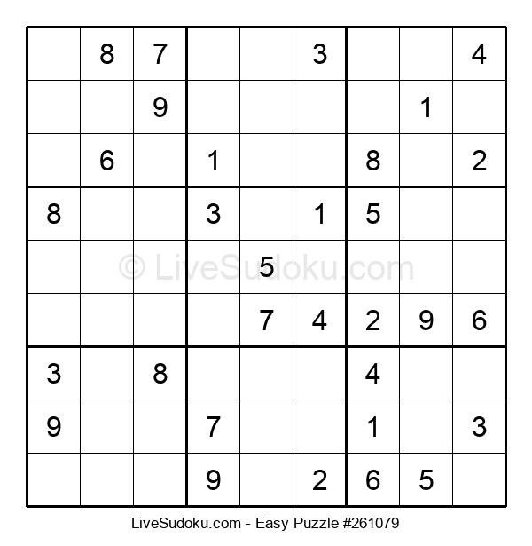 Beginners Puzzle #261079