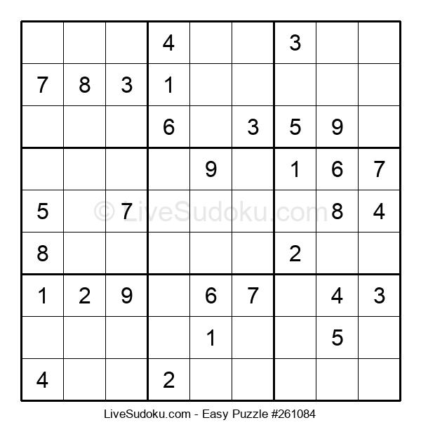 Beginners Puzzle #261084