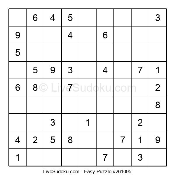 Beginners Puzzle #261095