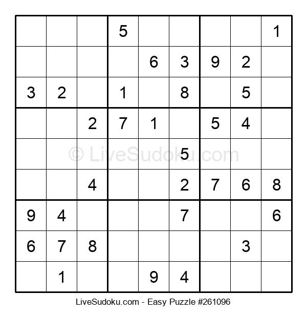 Beginners Puzzle #261096