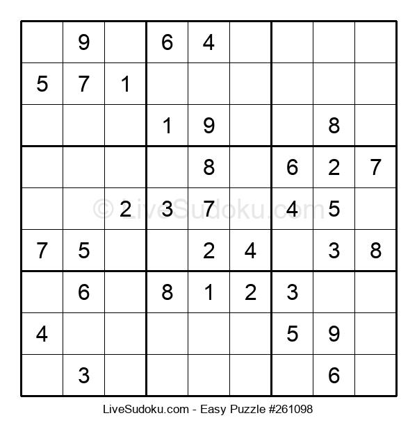 Beginners Puzzle #261098
