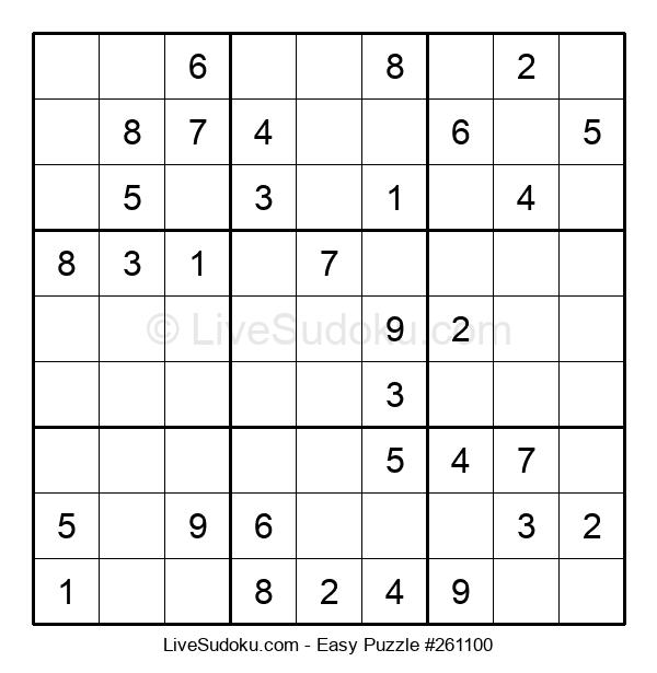 Beginners Puzzle #261100