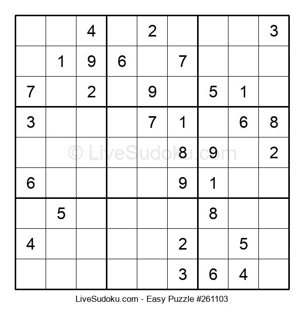 Beginners Puzzle #261103