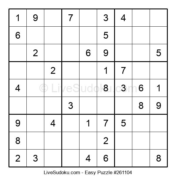 Beginners Puzzle #261104
