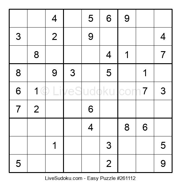 Beginners Puzzle #261112